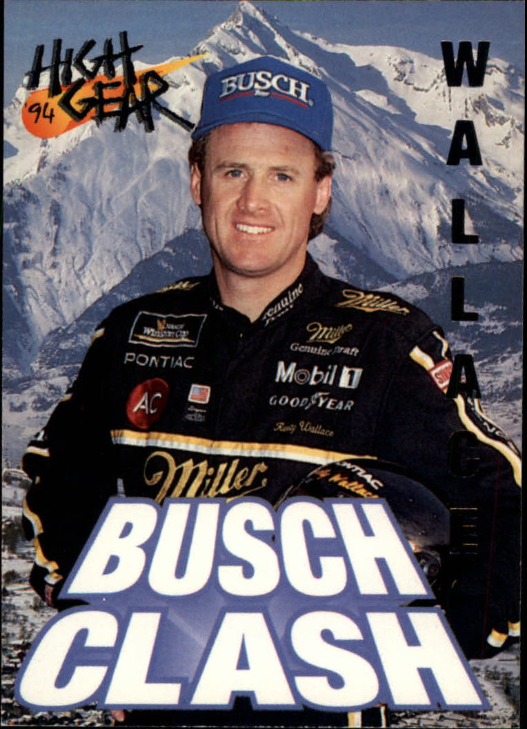 1994 Wheels High Gear #91 Rusty Wallace BC