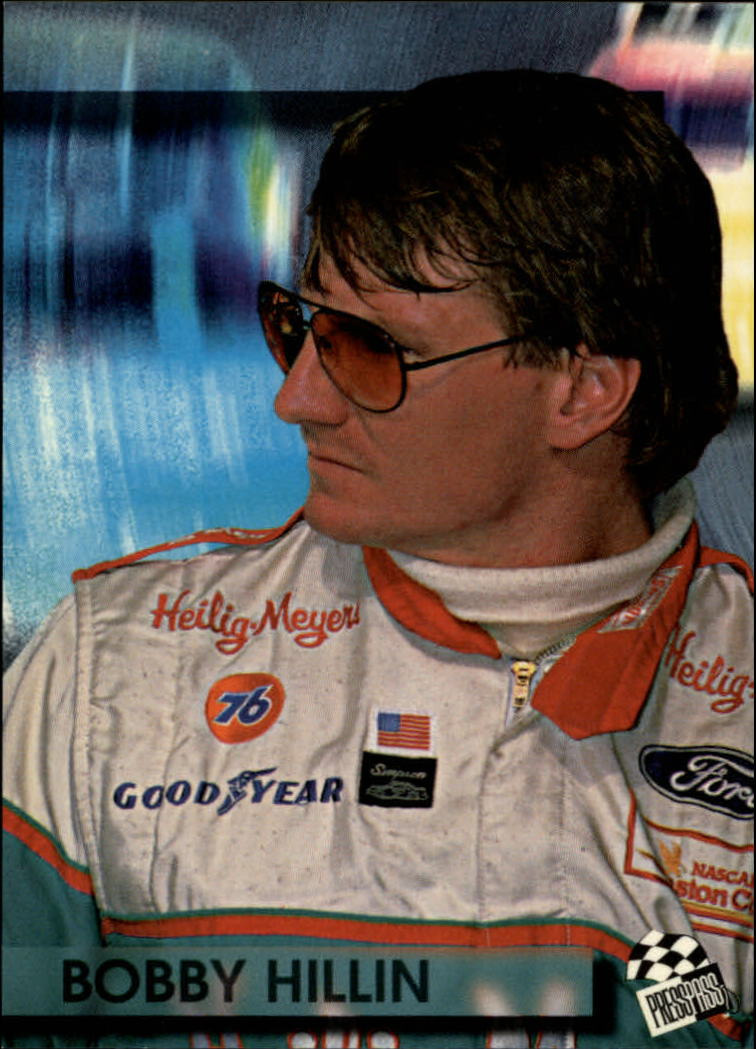 1994 Press Pass #10 Bobby Hillin