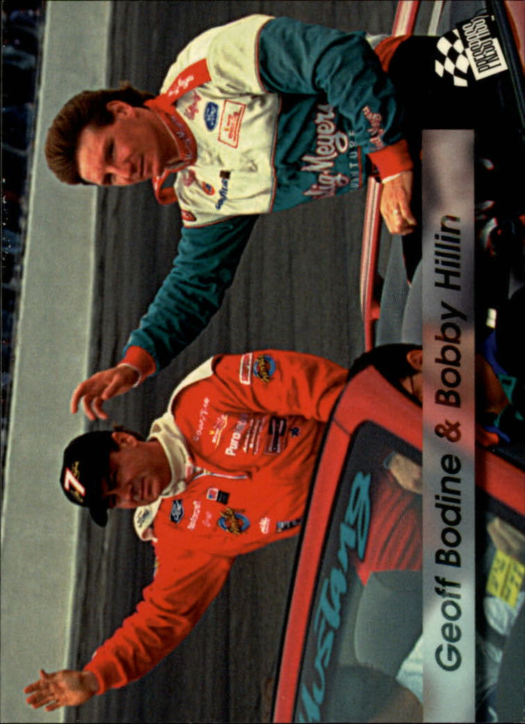 1994 Press Pass #35 Geoff Bodine/Bobby Hillin