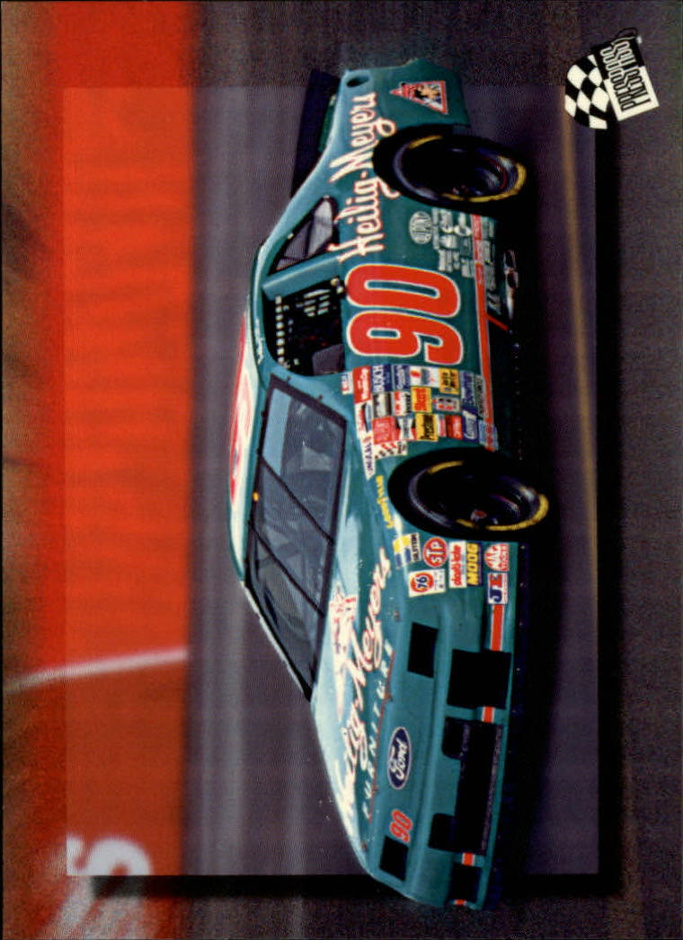 1994 Press Pass #41 Bobby Hillin's Car