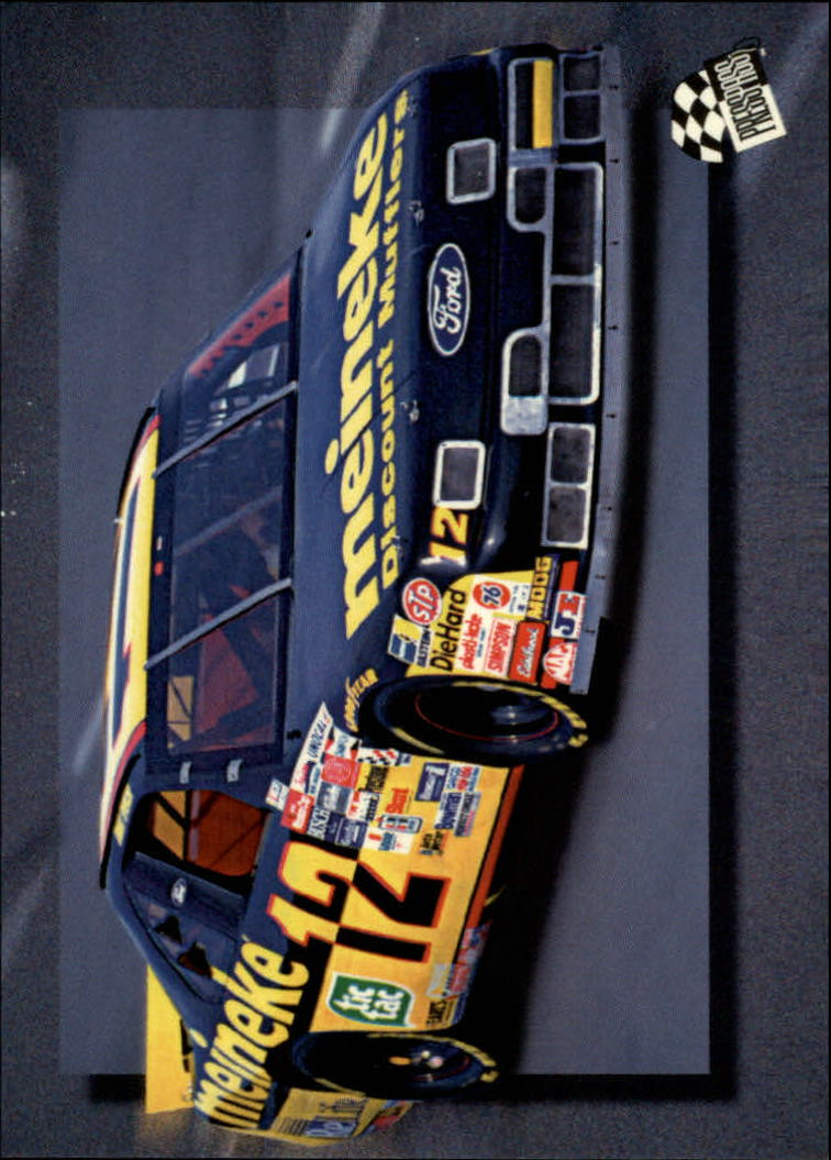 1994 Press Pass #45 Jimmy Spencer's Car