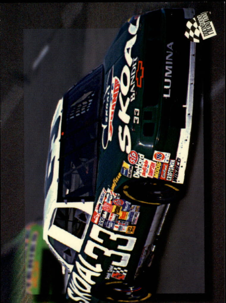 1994 Press Pass #52 Harry Gant's Car