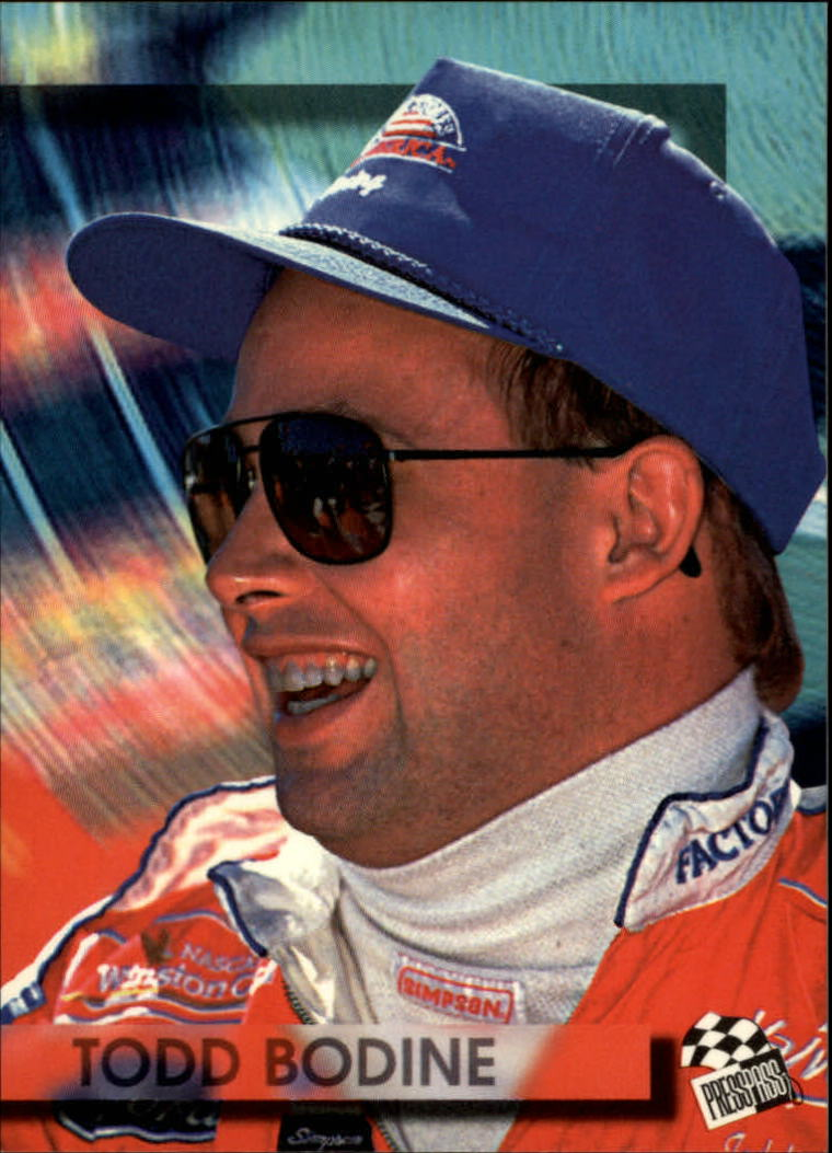 1994 Press Pass #55 Todd Bodine