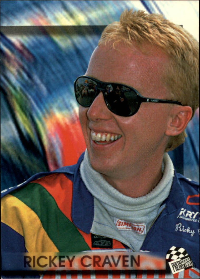 1994 Press Pass #58 Ricky Craven