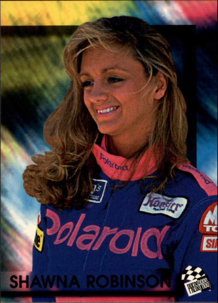 1994 Press Pass #63 Shawna Robinson