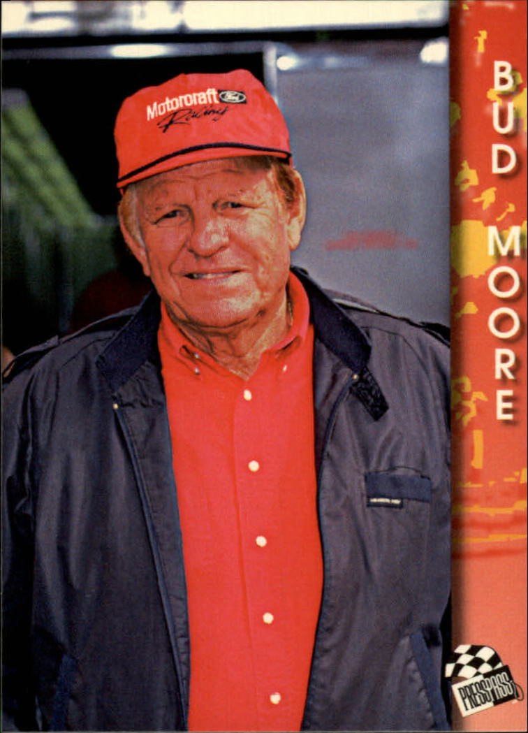 1994 Press Pass #81 Walter Bud Moore