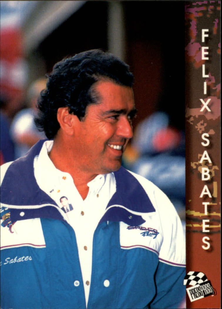1994 Press Pass #85 Felix Sabates