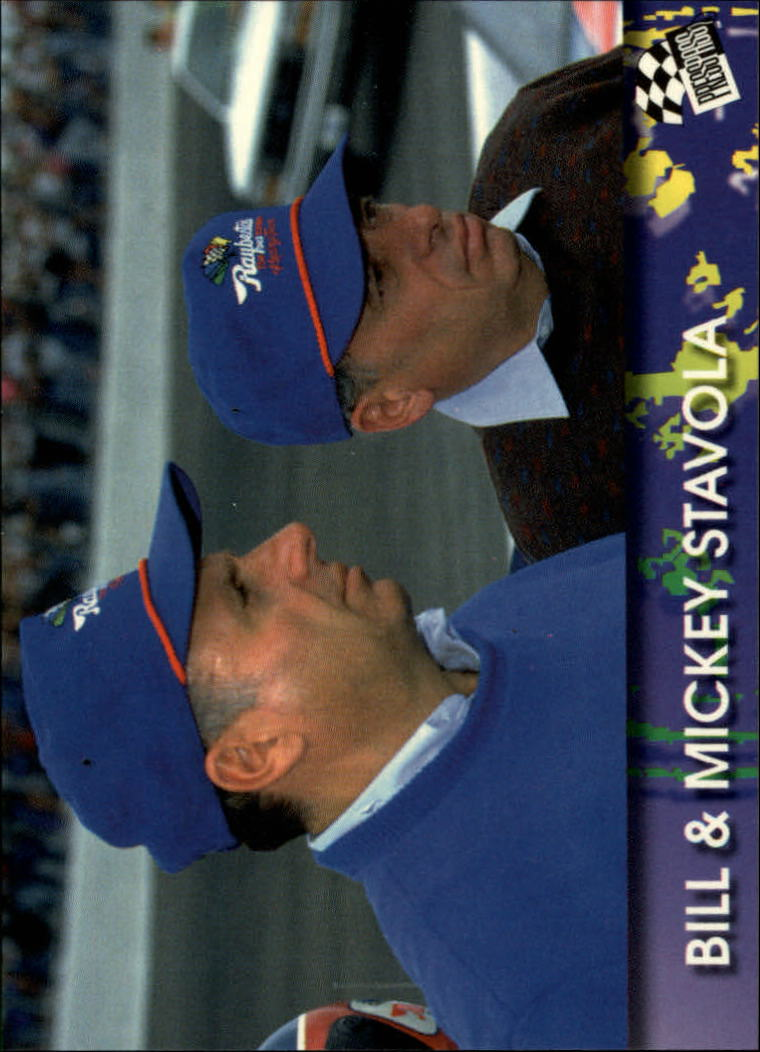 1994 Press Pass #86 Bill Stavola/Mickey Stavola