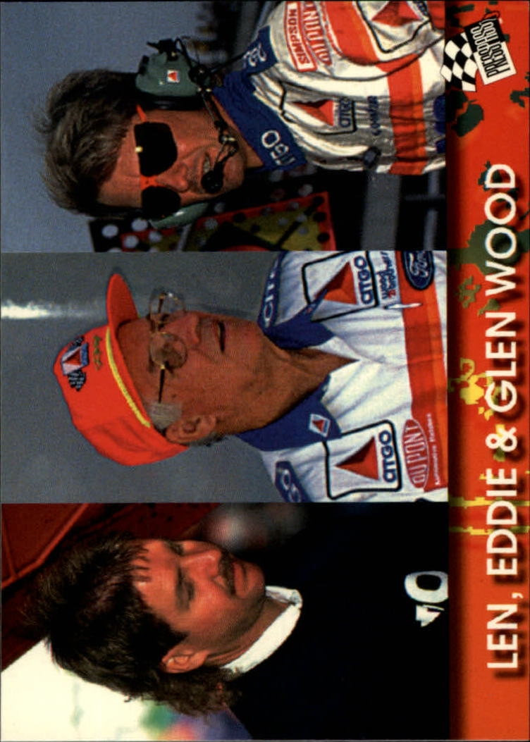 1994 Press Pass #88 Glen Wood/Eddie Wood/Len Wood