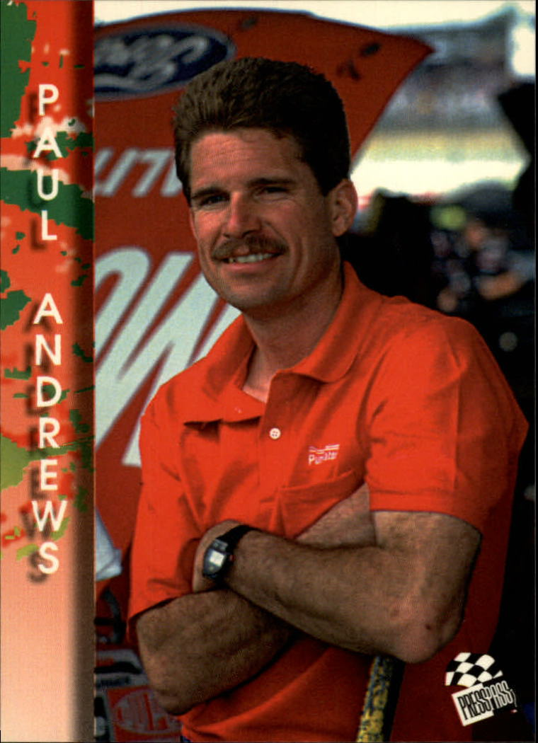 1994 Press Pass #91 Paul Andrews
