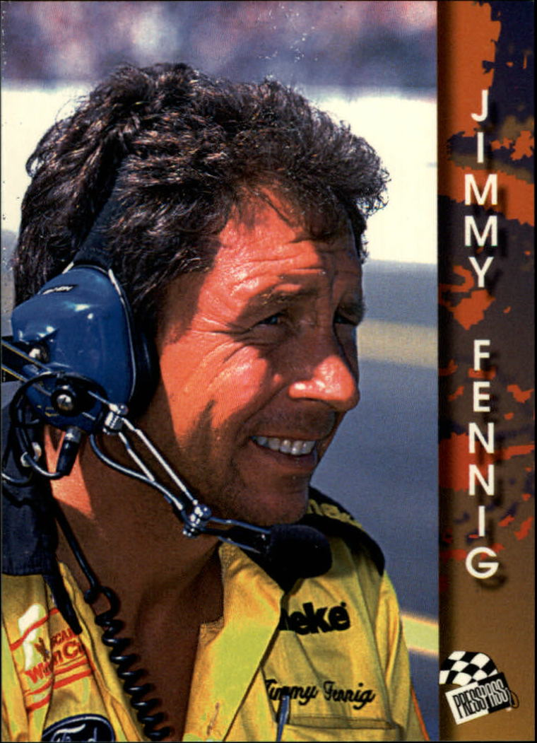1994 Press Pass #94 Jimmy Fennig