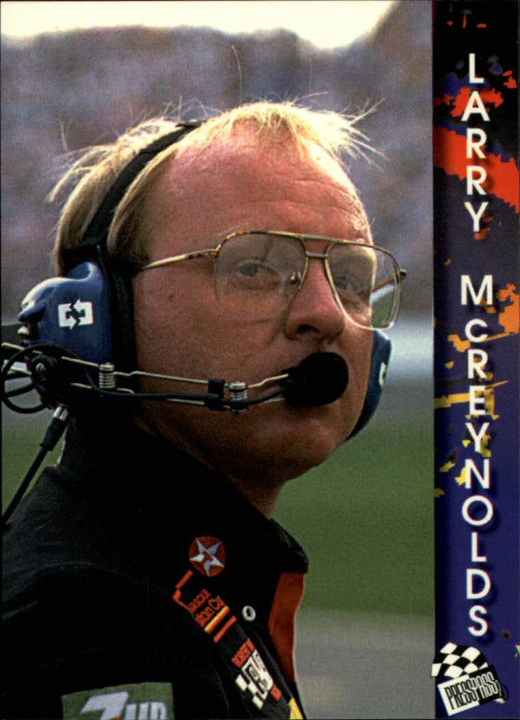 1994 Press Pass #101 Larry McReynolds