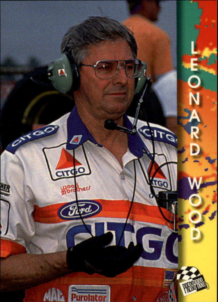 1994 Press Pass #108 Leonard Wood