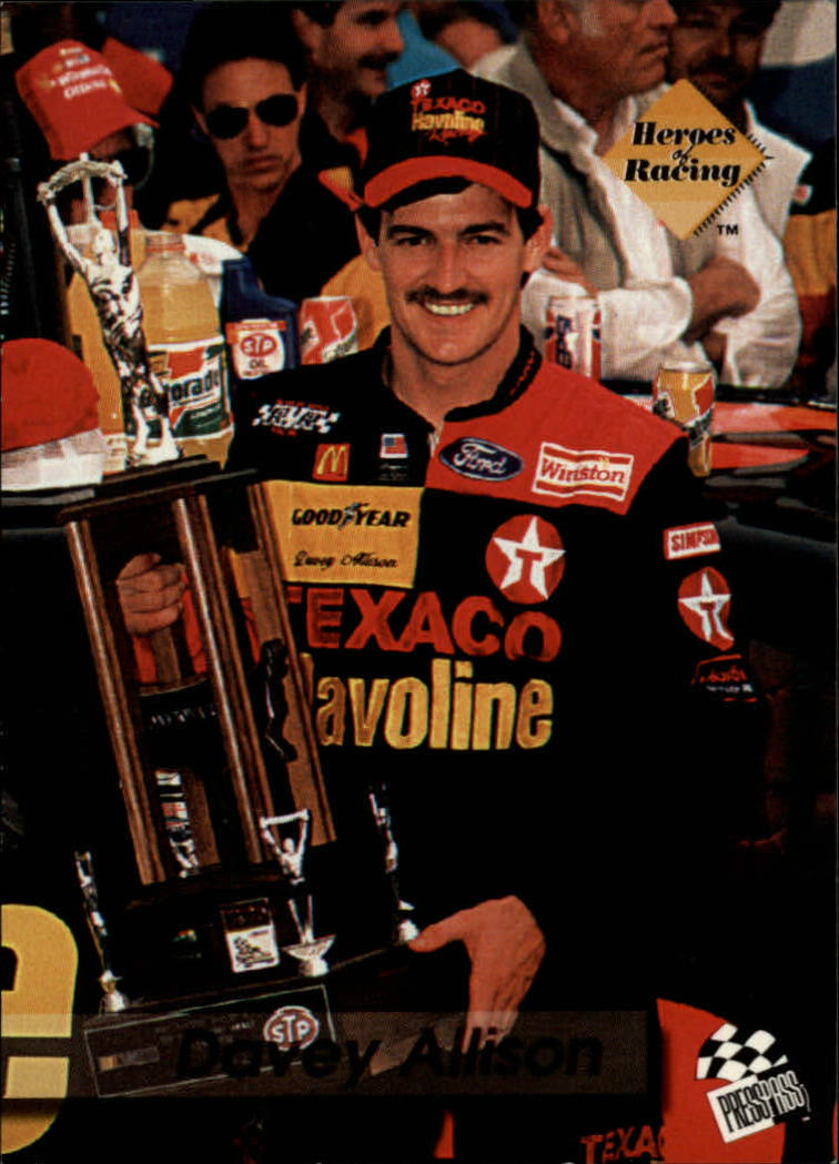 1994 Press Pass #127 Davey Allison HR