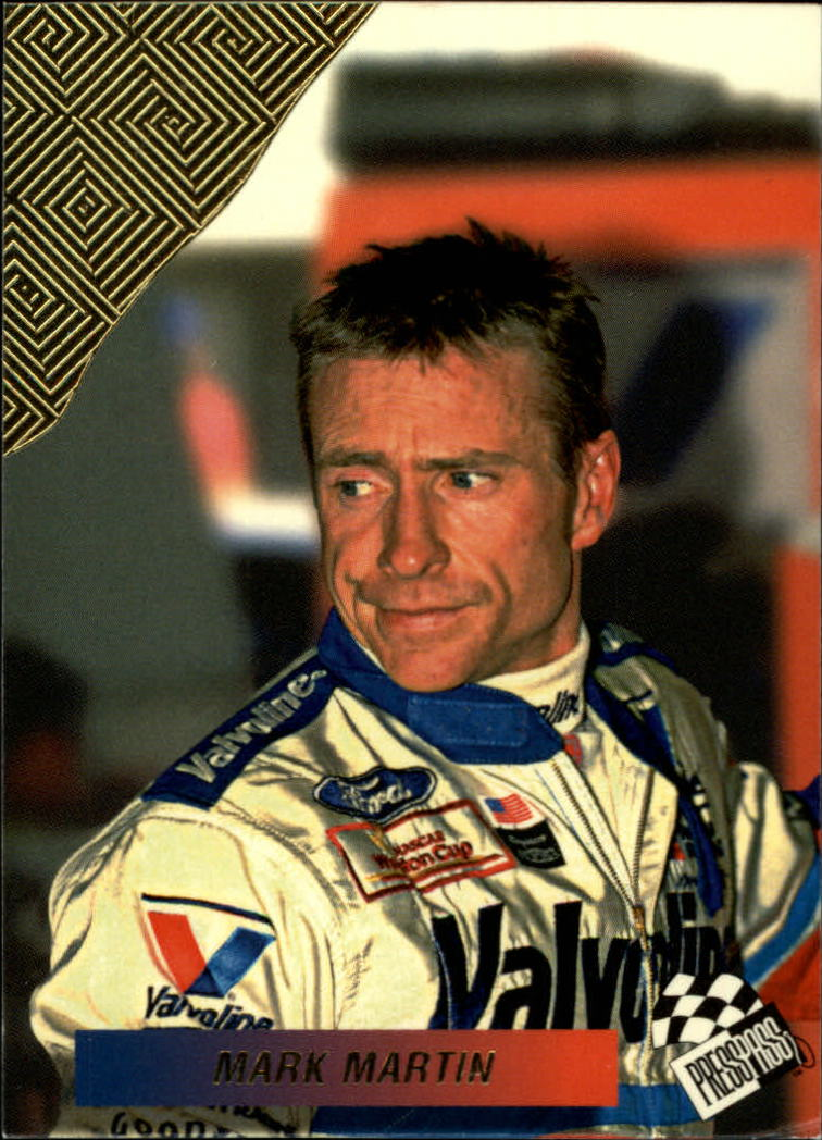 1994 Press Pass Checkered Flags #CF3 Mark Martin
