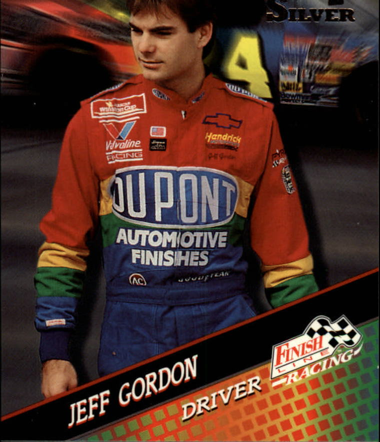 1994 Finish Line Silver #36 Jeff Gordon