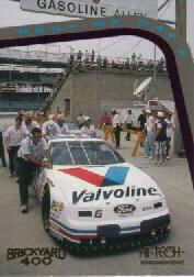 1994 Hi-Tech Brickyard 400 #19 Mark Martin's Car