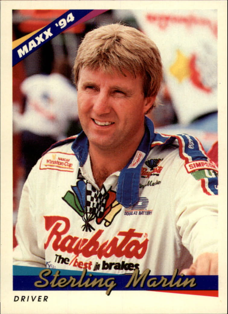 1994 Maxx #8 Sterling Marlin