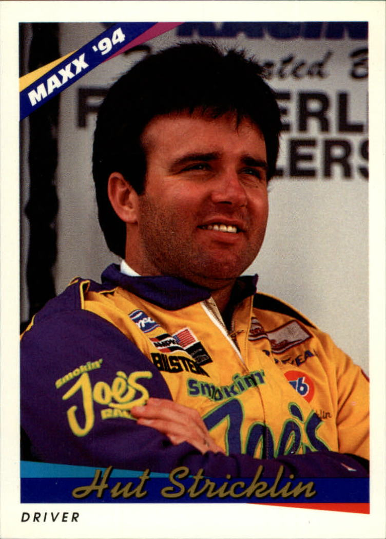 1994 Maxx #27 Hut Stricklin