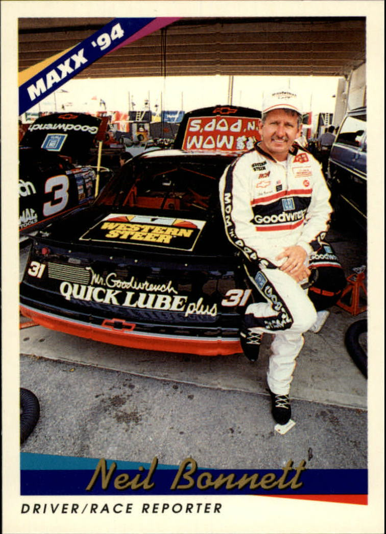 1994 Maxx #31 Neil Bonnett