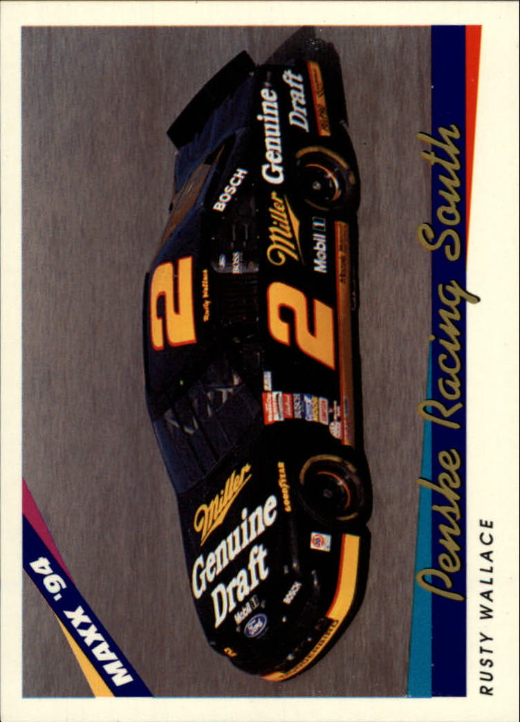 1994 Maxx #34 Rusty Wallace's Car