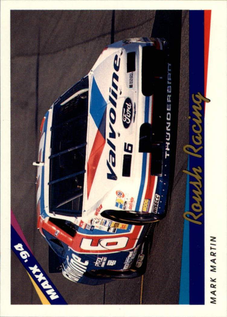 1994 Maxx #35 Mark Martin's Car
