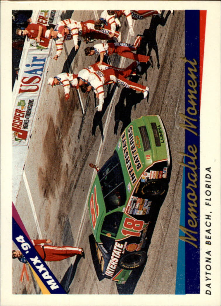 1994 Maxx #38 Dale Jarrett's Car MM