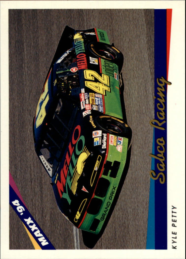 1994 Maxx #39 Kyle Petty's Car