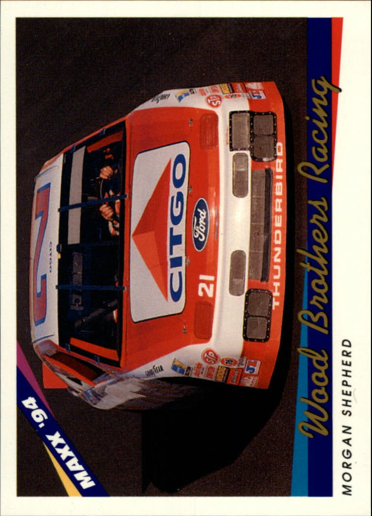 1994 Maxx #50 Morgan Shepherd's Car