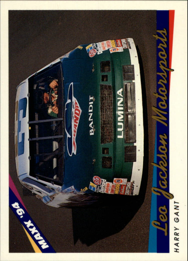 1994 Maxx #60 Harry Gant's Car