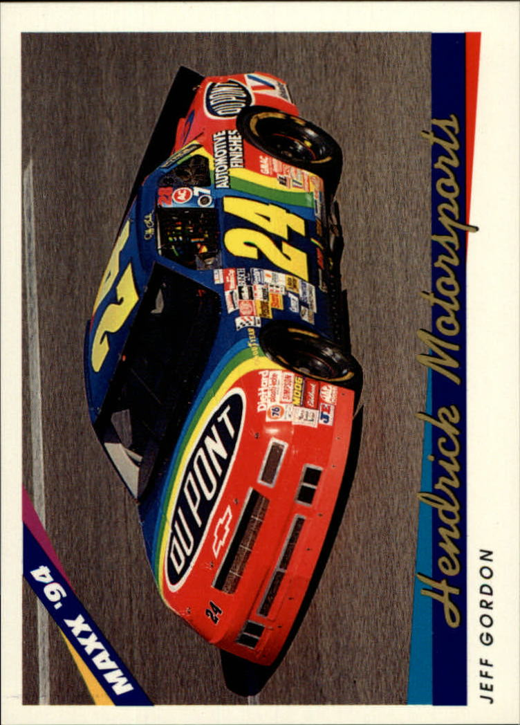1994 Maxx #65 Jeff Gordon's Car