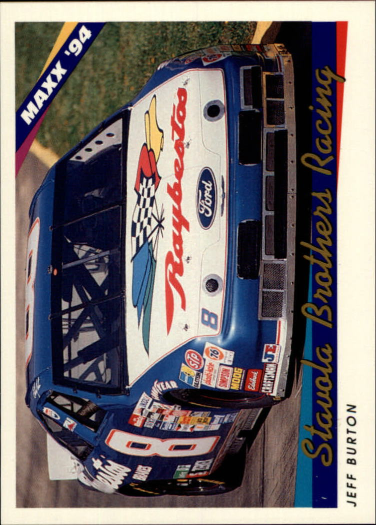 1994 Maxx #66 Jeff Burton's Car