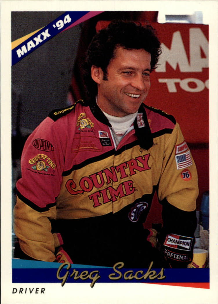 1994 Maxx #68 Greg Sacks