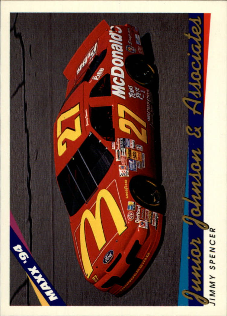 1994 Maxx #81 Jimmy Spencer's Car