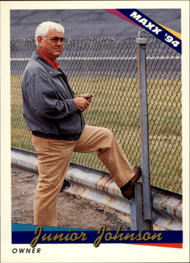 1994 Maxx #97 Junior Johnson