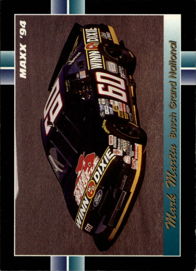 1994 Maxx #259 Mark Martin's Car