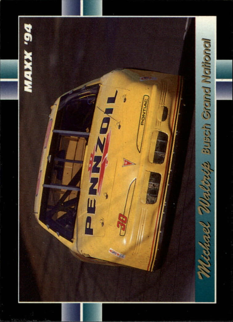 1994 Maxx #261 Michael Waltrip's Car