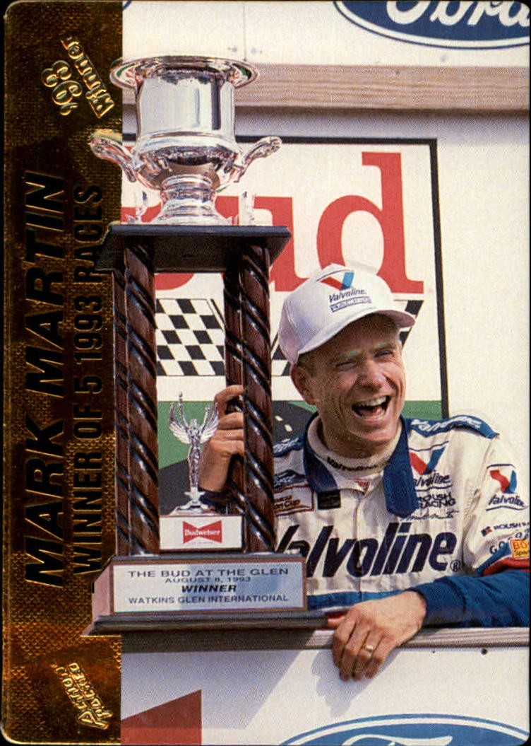 1994 Action Packed #33 Mark Martin WIN