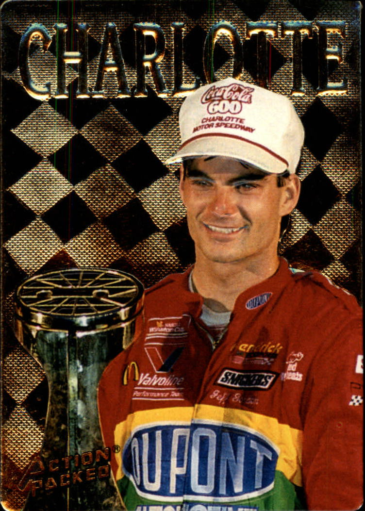 1994 Action Packed #189 Jeff Gordon WIN