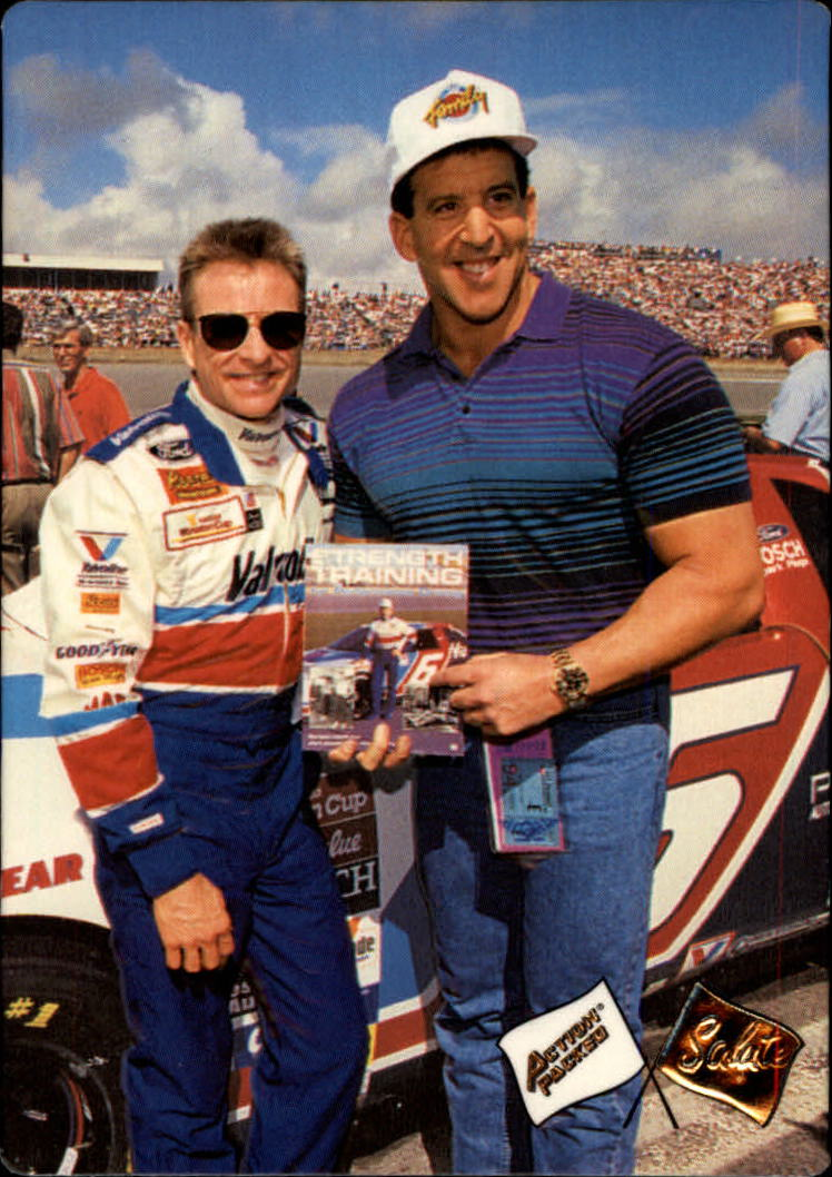 1994 Action Packed #200 Mark Martin