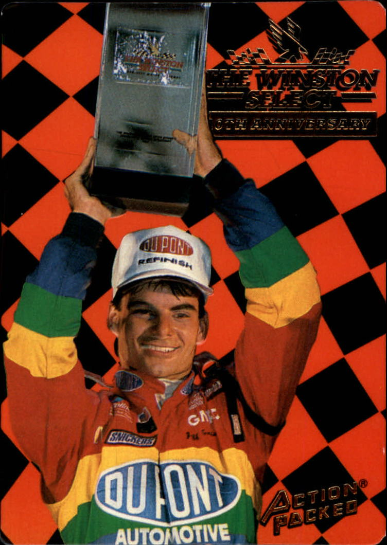 1994 Action Packed #209 Jeff Gordon WS
