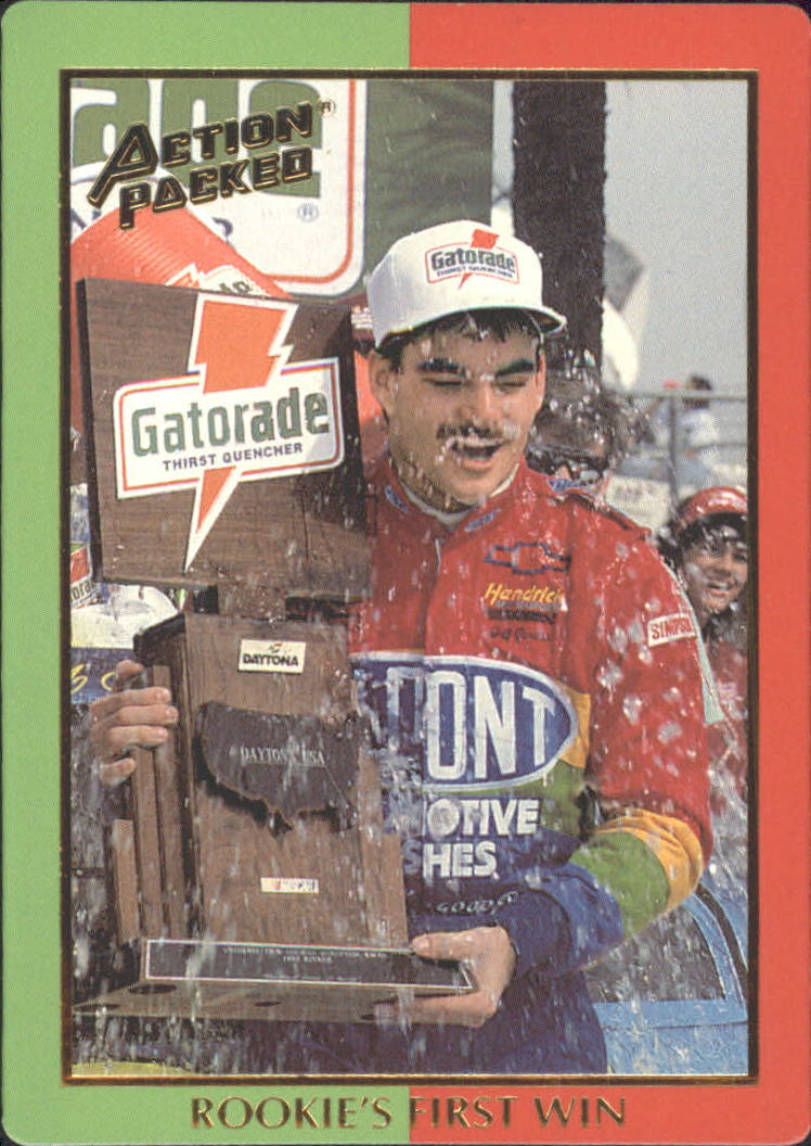 1994 Action Packed Champ and Challenger #5 Jeff Gordon