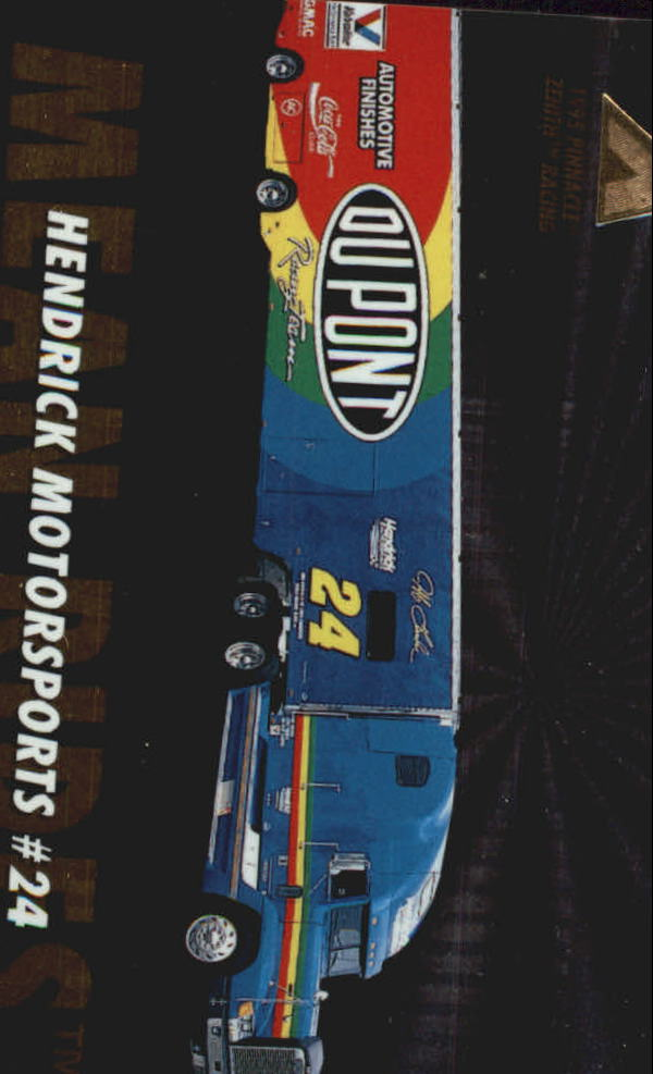 1995 Zenith #51 Jeff Gordon's Transporter