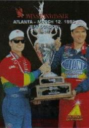 1995 Zenith Winston Winners #4 Jeff Gordon/Evernham