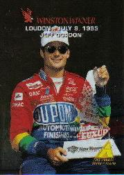 1995 Zenith Winston Winners #16 Jeff Gordon