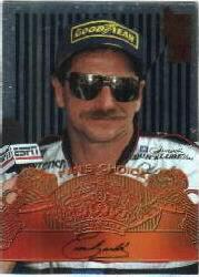 1995 VIP Fan's Choice #FC1 Dale Earnhardt