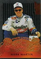 1995 VIP Fan's Choice #FC6 Mark Martin