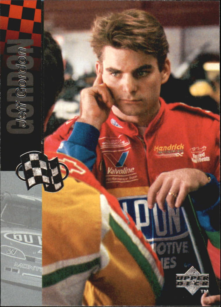 1995 Upper Deck #202 Jeff Gordon