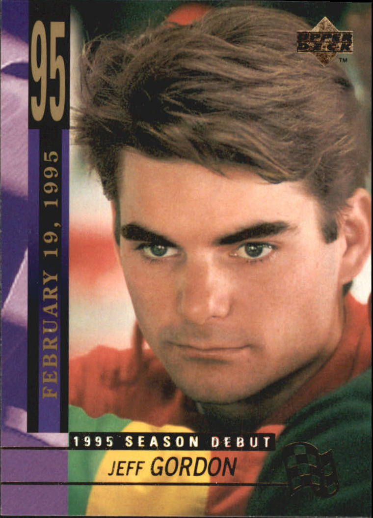 1995 Upper Deck #246 Jeff Gordon SD