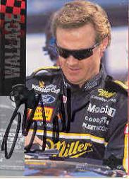 1995 Upper Deck Autographs #182 Rusty Wallace